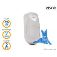Risco - Détecteur de mouvements iWAVE Anti Animaux Bidirectionnel NFA2P