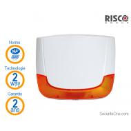 Risco - Sirène extérieure sans fil Lumin8