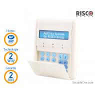 Risco - Clavier LCD bidirectionnel avec lecteur proximité NFA2P