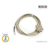 Risco - Câble de connexion et de programmation PC Agility / LightSYS