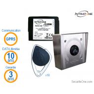 Intratone - Kit de contrôle d'accès par badge