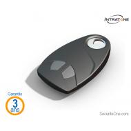Intratone - Télécommande 2 boutons sécurisée