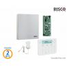 Kit Risco LightSYS 2 en boîtier métal - Centrale + Clavier élégant